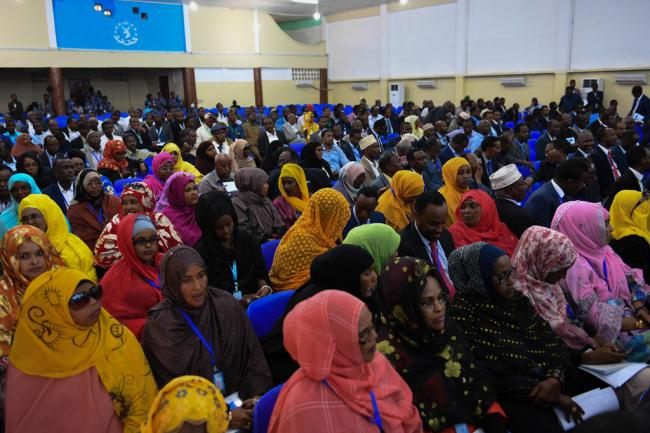 Somalia:Welcoming new Federal Parliament, Ban urges completion of electoral process