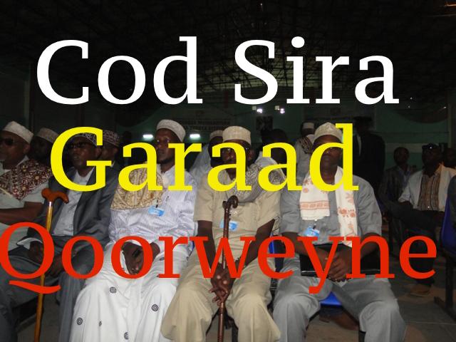 [Dhageyso Cod si sira] looga duubay Odaygii Habargidir ugu musuqmaasuqa badnaay ee ka mida 135 Oday dhaqameed -Garaadlaawe Qoorweyne