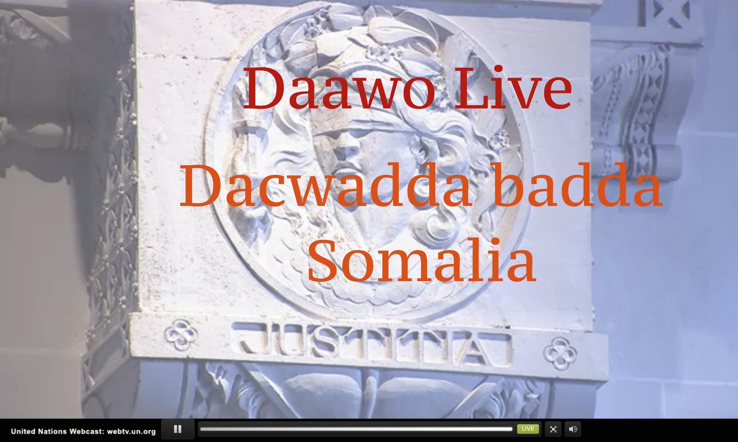 Daawo Live dacwadda badda Somalia iyo khudbadaha Xeer ilaaliyaha iyo Qareenadda metelaya Somalia