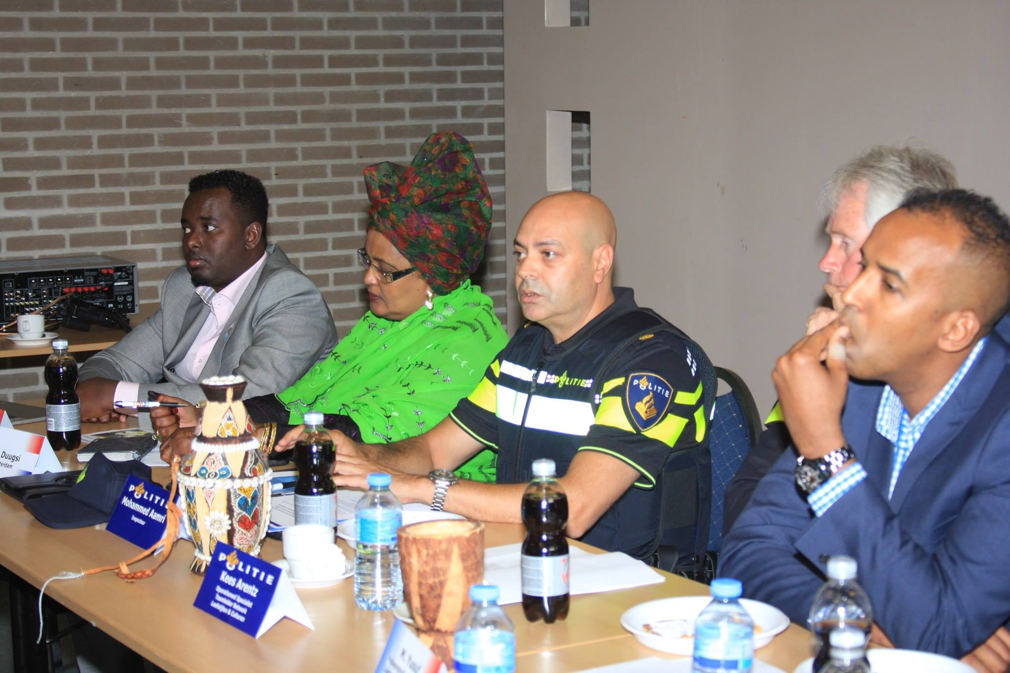 Somali community and Dutch police discuss on Islamic radicalism
