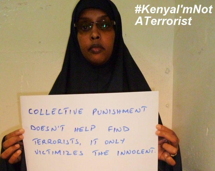 Somali-Kenyans launch 'I am not a terrorist' campaign