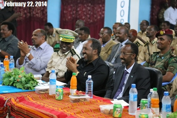 Former Somali Prime Minister publish Photo against Somali President