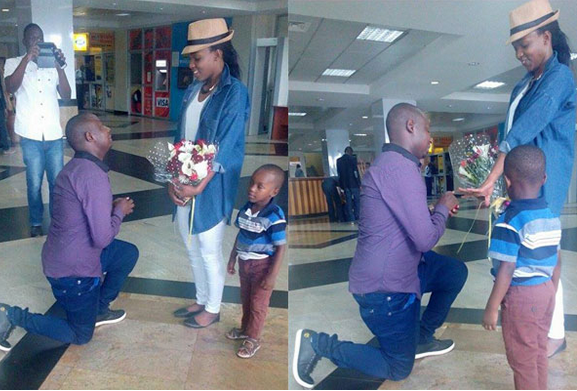Uganda:I proposed to her at the Airport