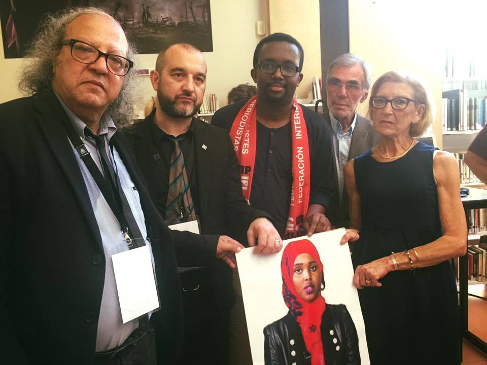 Journalists' world body elects Somalia's Omar Faruk Osman to its global leadership