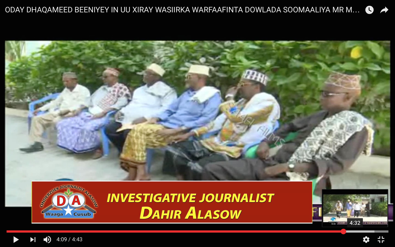 [Daawo] Wasiir afduubtay Suldaankiisa hadana ku qasbay inuu Tv-ga soo fariisto