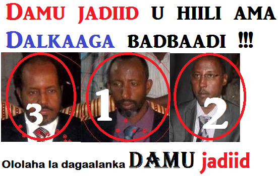 Somali President in the hands of Asmara Group and Damu Jadiid
