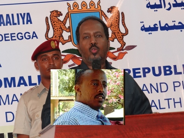 Assassination  Points at the President of Somalia