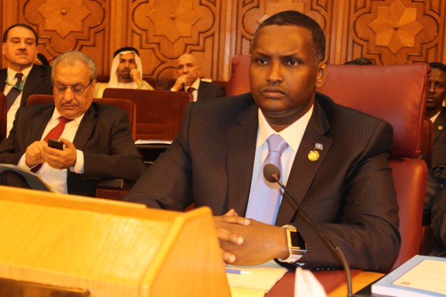 Somalia Deputy Minister of Foreign Affairs  urged Arab countries to support the military