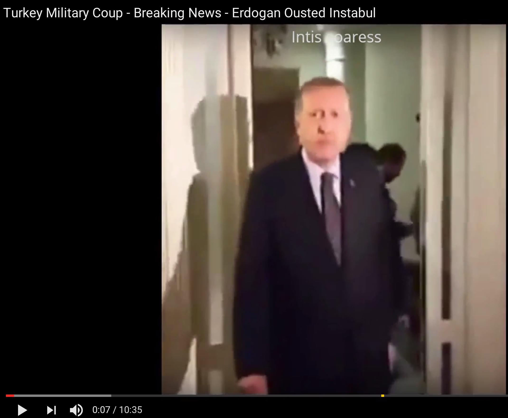 [Daawo] Madaxweyne Turkey oo shir jaraa-id ku qabtay Istanbul Airport kadib markii diyaarad ka qaaday Hotelka ?