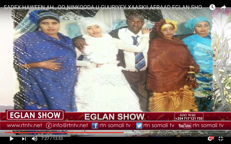 [Daawo] Somali score jibiyay oo seddex xaas uu qabay ay xaaskii afaraad u aroosiyeen