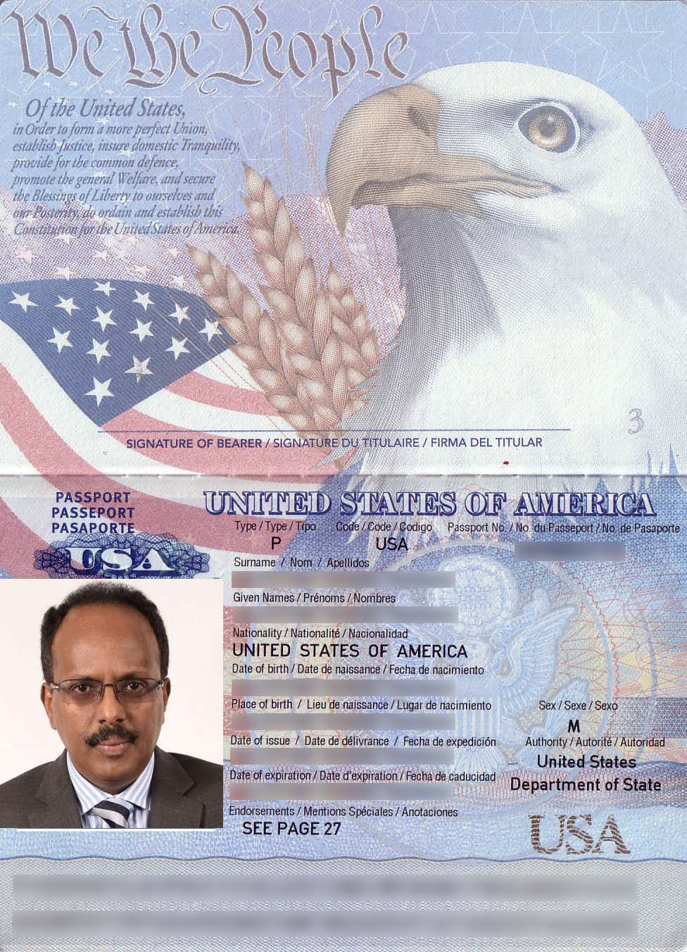 Which is more important ,US Passport or Somali Nation ?