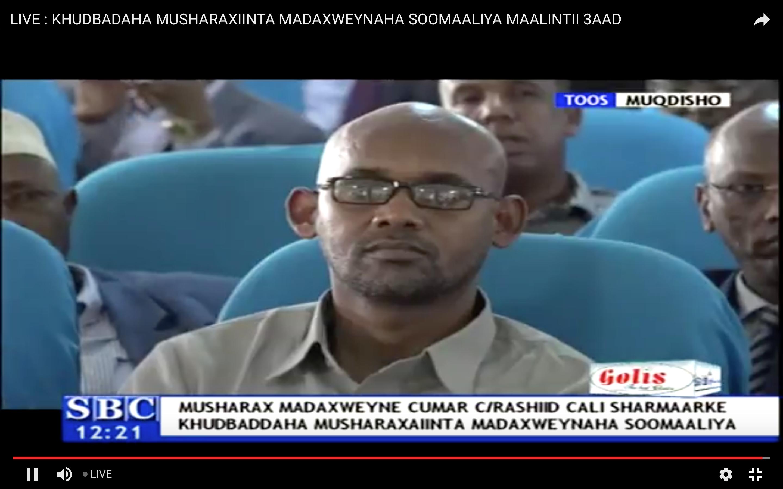 [Daawo Live] khudbadii Musharaxiinta Xalweyste Farmaajo iyo Tarsan