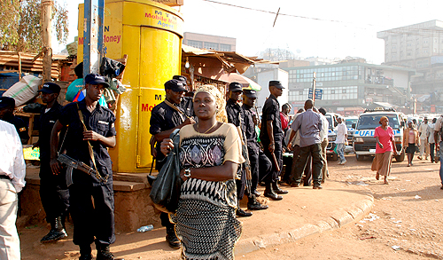 Ugandan government imposes curfew on Kampala