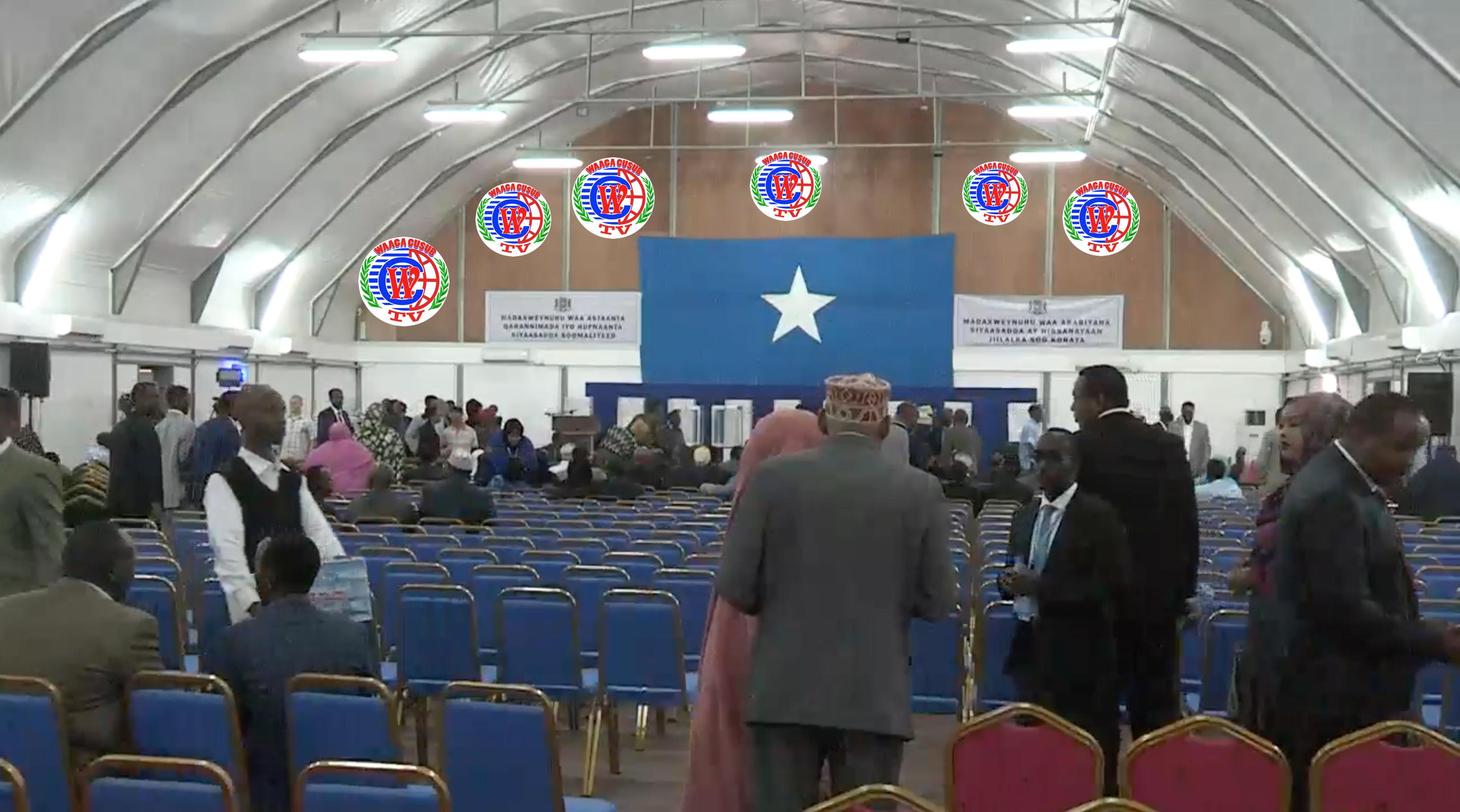 [Daawo Live] doorashadda Madaxweynaha Somalia ee Muqdisho ka socota