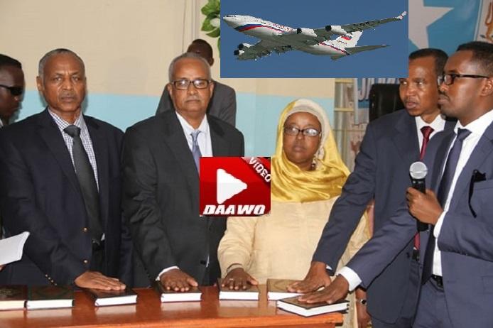 [DHAGEYSO:]Wasiirada Dowladii Hore ee Somalia oo Laga Mamnuucay inay Dalka ka Dhoofaan?