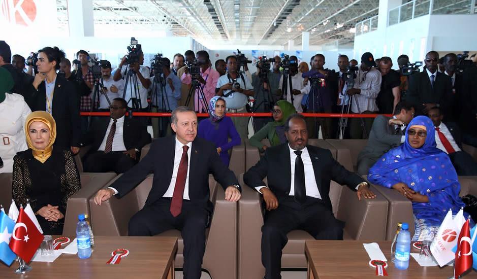 Somalia:Turkish Govt pledges to Support Opposition MPs against Damujadiid