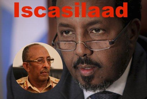[Topnews:-] Taliyaha Ciidanka xooga Somalia oo iscasilay kadib markii Madaxweyne Garguurte amaro yaab faray ?