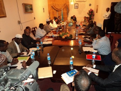Somali Cabinet discusses plans for regional administrations