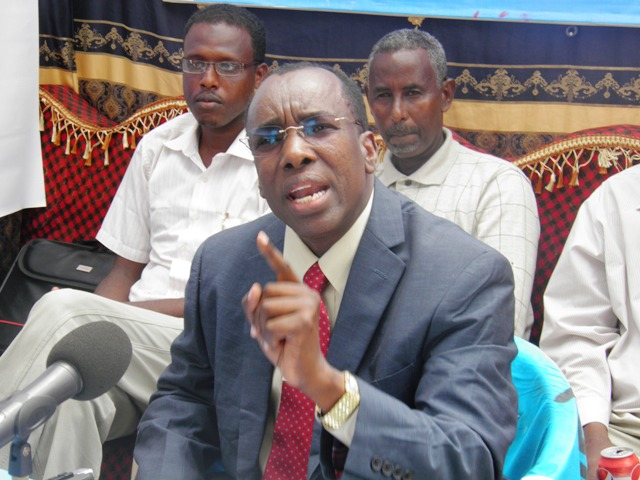 Somalia Federal Government Contradicting