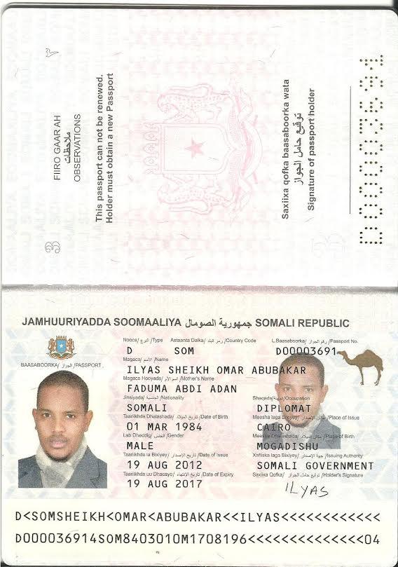 [Daawo Akhri Sir culus iyo dukumiintiyo] -Safiirka Somali u fadhiya Masar iyo sidii dadka u iibsaday ?