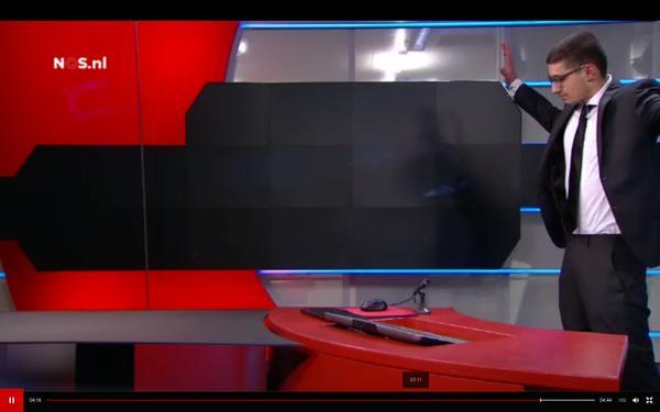Netherlands: Gunman arrested after demanding airtime on state TV