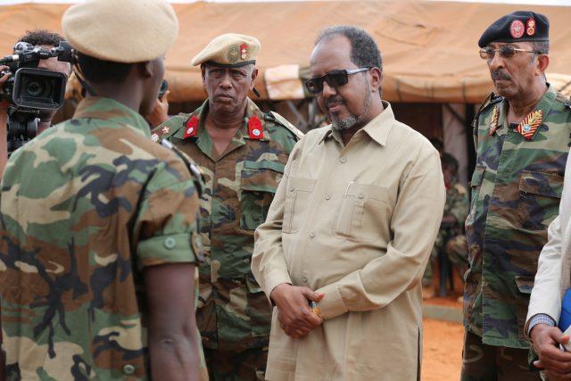 [Taliyaha] Ciidanka xooga Somalia oo Madaxweyne Garguurte weeydiistay inuu koorso yaab badan u diro ?
