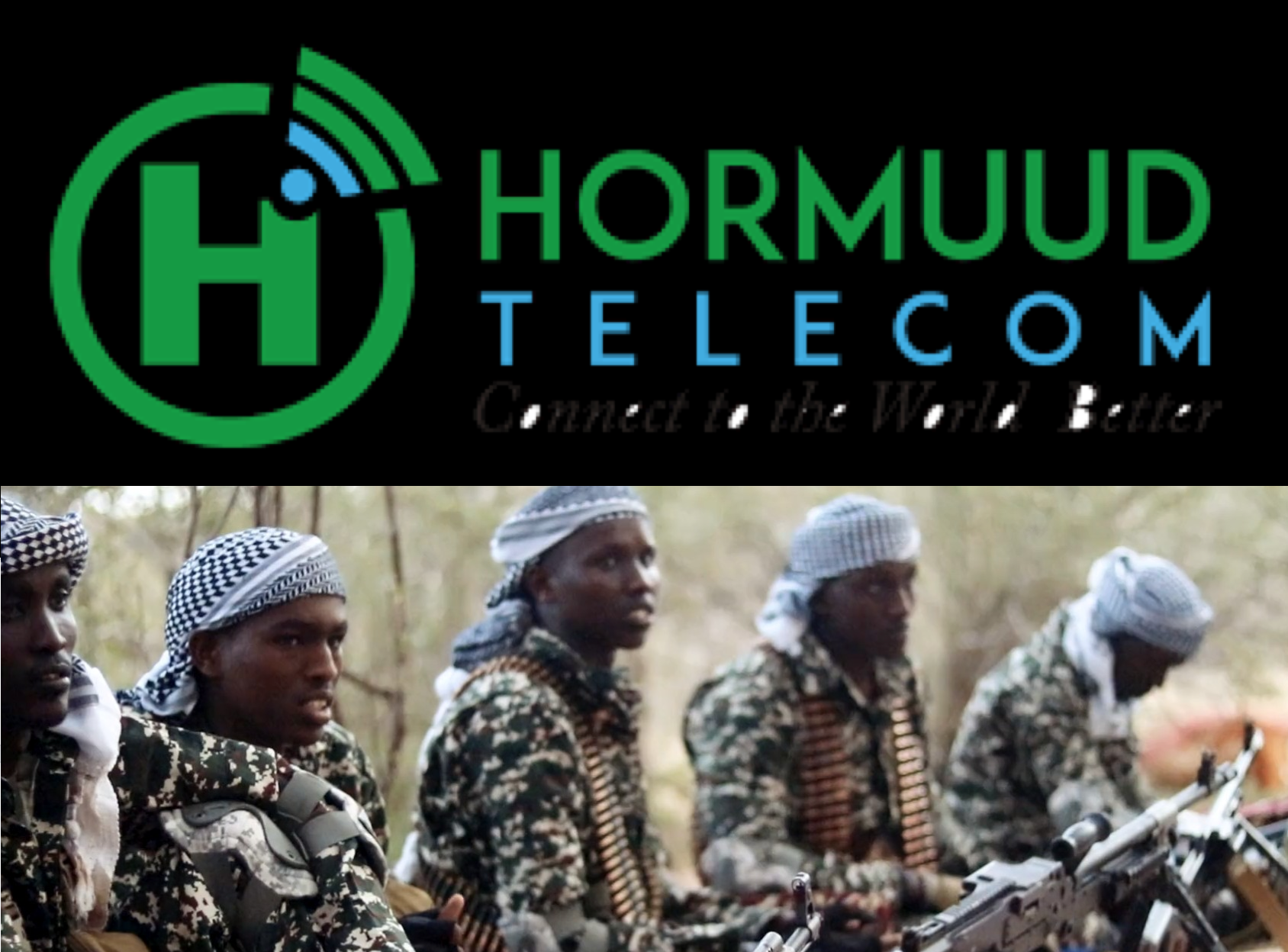 Hormuud Telecom, Taaj Express, Salaam Bank iyo Dahabshiil Money Transfer directly pay taxes to Al-Shabaab.