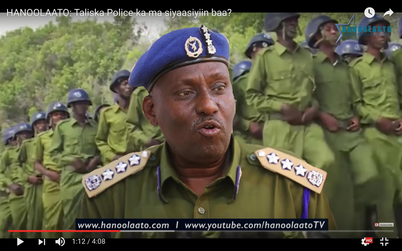 [Daawo] Wariye caana oo ceebeeyay Taliyaha Boliiska Somalia oo ku kacay falkii ugu xumaay taariikhda