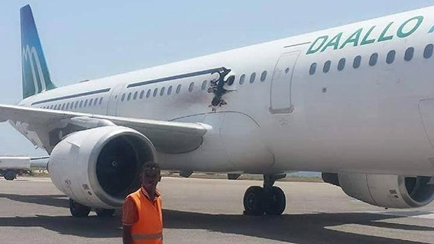 Video Top secret of Airplane bomber - Somaliland -Shabaab ? 16F Seat -Ticket Angola