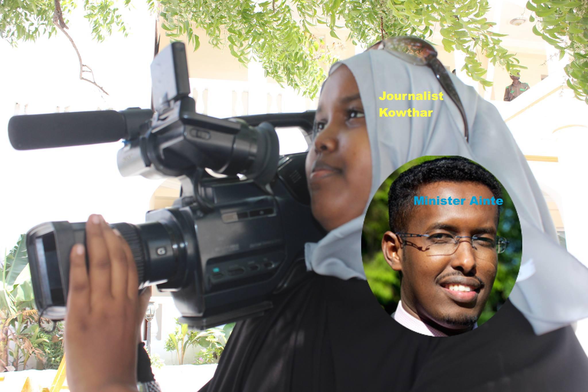 Somalia:Minister Ainte joins Islamist DamulJadiid political party