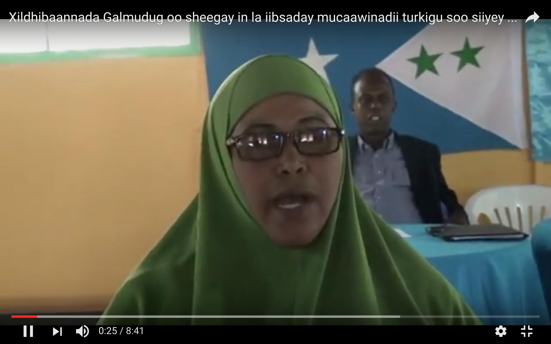 [Daawo] Fadeexadda Mucaawinaddii Turkiga ee Galmudug oo Dhegajuun ka iibsaday ganacsato
