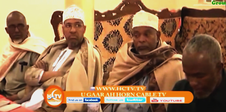 Somaliland:Traditional leaders express their gratitude to Telesom for donation and awareness towards drought calamity