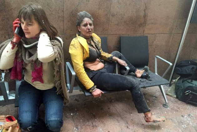 Video At Least 23 Killed As Twin Blasts Rock Belgium: Reports