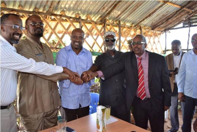Somalia: Cornel Hirale with armored entered in Kismayo