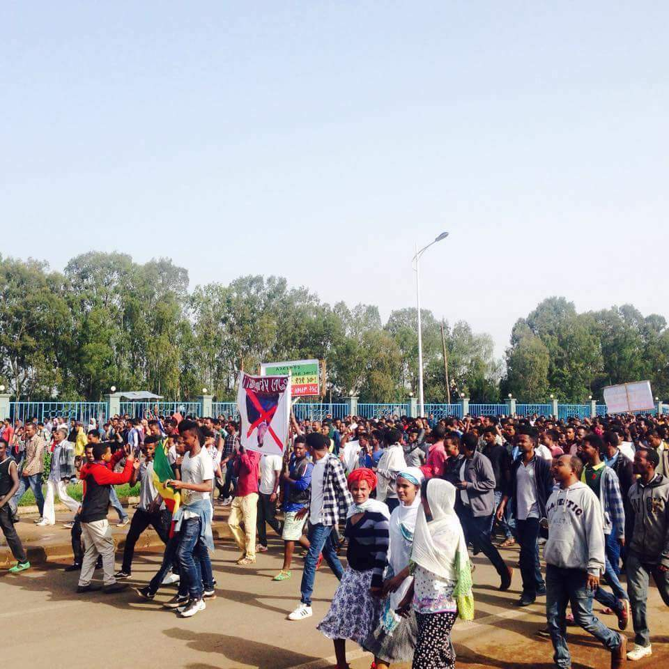 30 Civilians shot dead at anti-government protests in Ethiopia