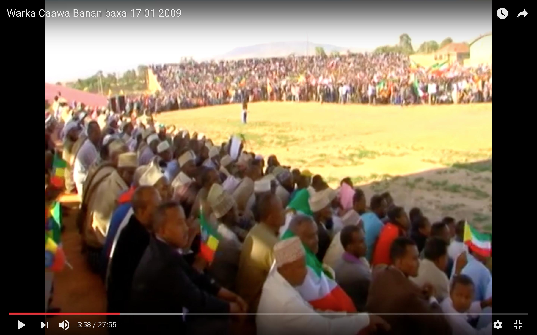 [Daawo] Jigjiga oo banaanbaxii ugu weynaay ka dhacay iyo Cabdi iLeey oo ku hanjabay inuu dagaal la geli doono Ethiopia ?