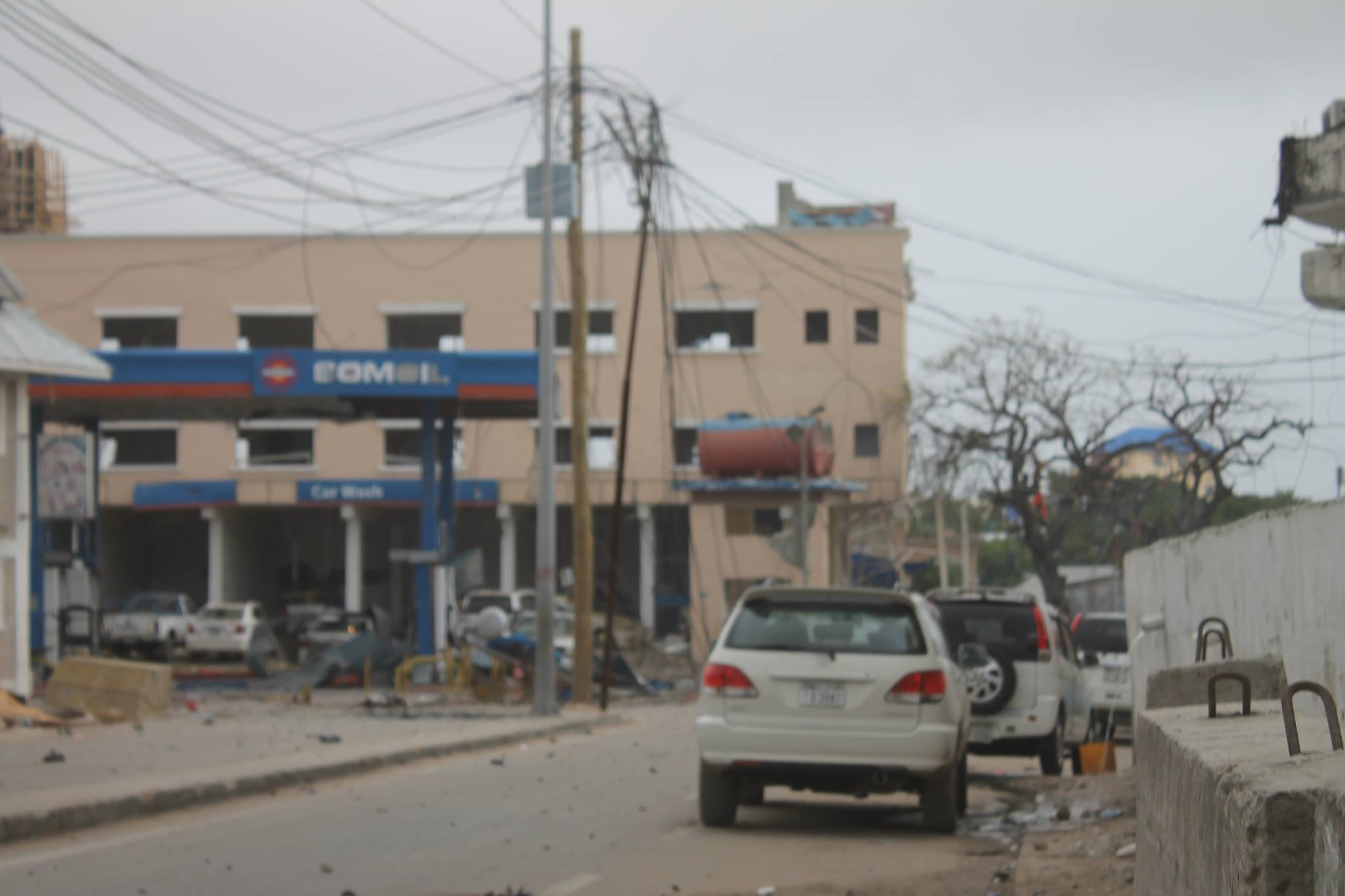 [Wardegdega Daawo] kaalinta Shidaalka KM4 Muqdisho oo gubatay
