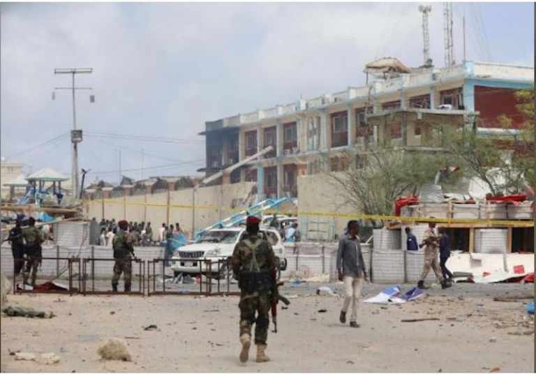 Security Officers Arrested In Connection With Mogadishu's Twin Blast
