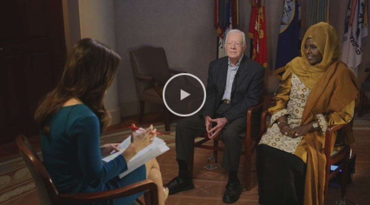 Video: Fmr. U.S. Pres. Jimmy Carter and MP Asha Haji Elmi working to empower women