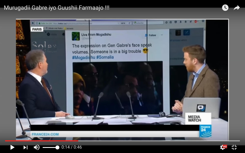 "[Daawo Tv-ga France24] ""Murugadii Gabre iyo Guushii Farmaajo"""