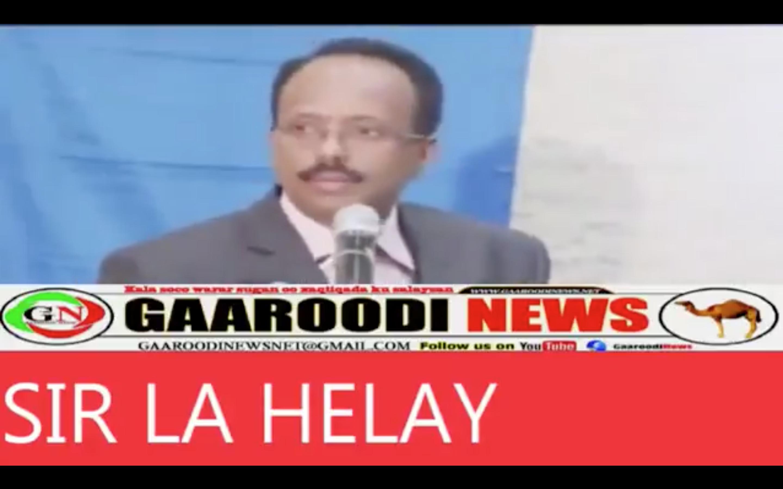[Daawo Sir culus] Farmaajo oo ku hanjabay inuu Somaliland Aakhiro u diri doono
