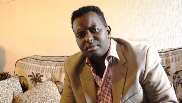 "Somalia""Dahir Alasow the leader of the free Speech""Editorial"