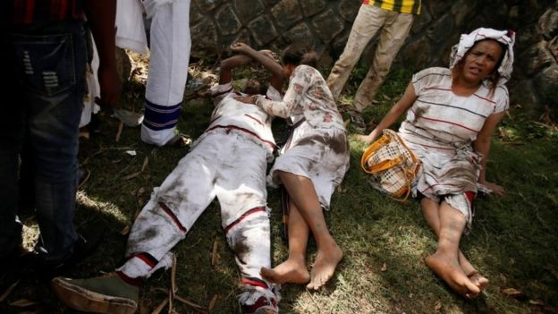 Oromia:Deadly stampede at Ethiopia protest