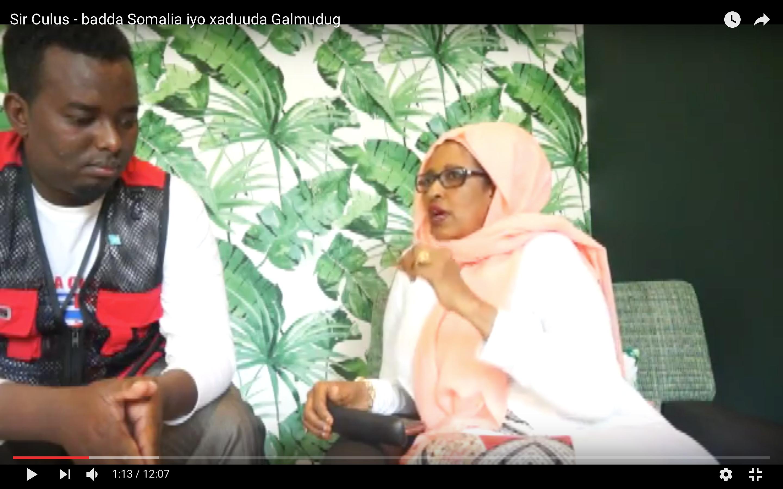 [Daawo Sir Culus] Gudoomiyaha doorashooyinka Qaranka oo kashiftay qaladaadka heshiiska badda Somalia iyo xaduuda Galmudug