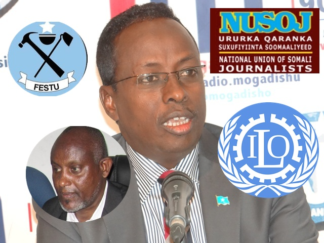 Trade Unions Drag Somali Government to ILO
