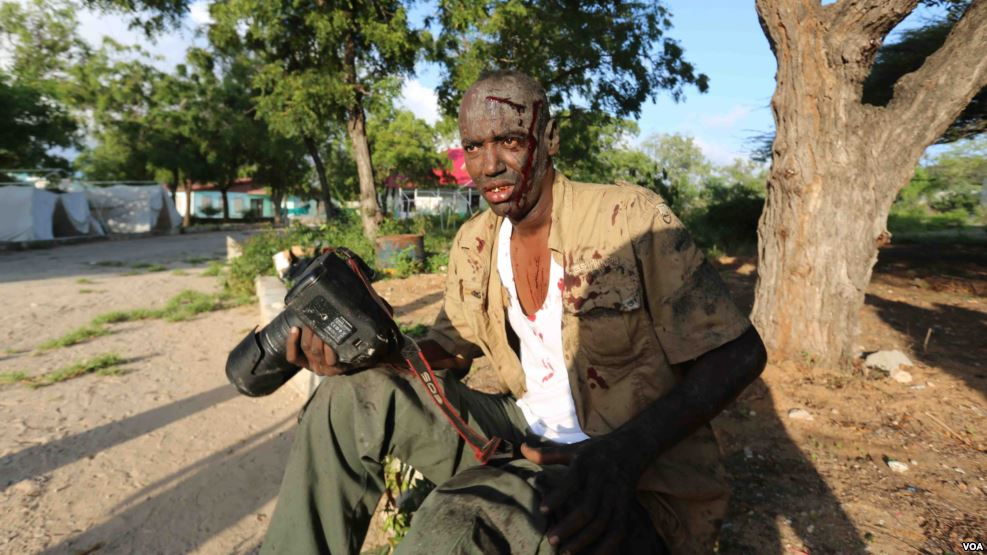 To Get Story, Somali Journalists Risk Bullets and Bombs