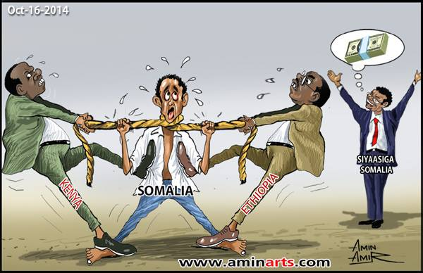 Somalia : Foreign Companies and Front Line Countries Exploiting Somalia's Failed State