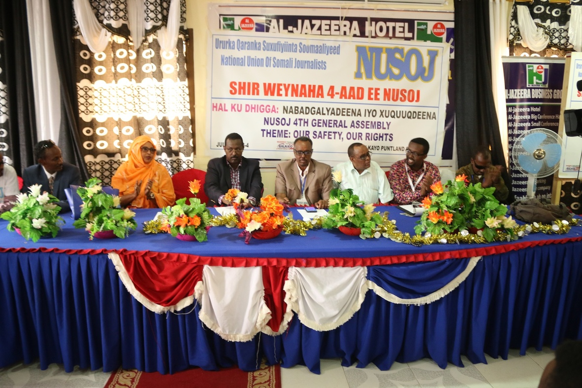 Inspiring, Impressive, Upbeat: NUSOJ General Assembly Kicks-Off in Galkayo