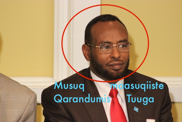 Somalia's Chief Justice called on President  to intervene to stop the misconducts of the Attorney General