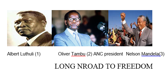 AFRICA:LONG NROAD TO FREEDOM
